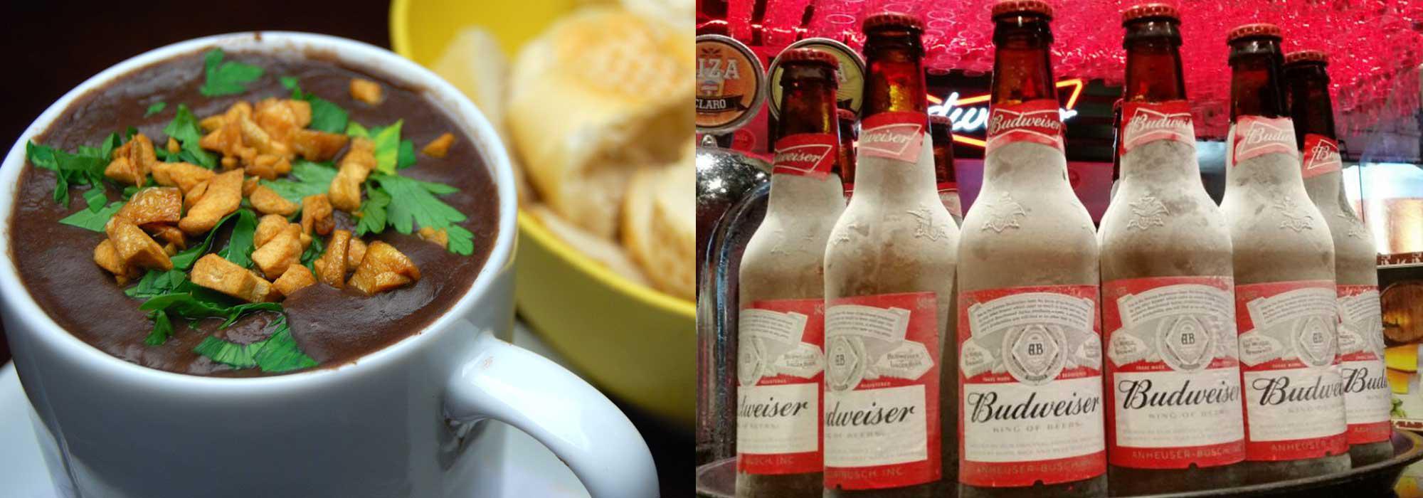 Diversos Caldos e Cerveja Gelada